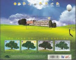 Belgique 2013 COB Bloc Feuillet 209 Neuf ** Cote (2016) 12.00 Euro 100 Ans Institut Royal Météorologique - Blocs 1962-....