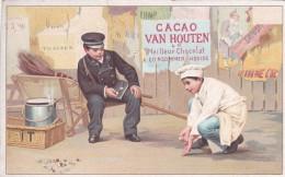 1 Image Chocolat Van Houten , Joueur De Bille - Van Houten