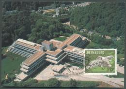 2FR. GD Jean Obl. Au Verso + 12FR. Banque Européenne D´Investissement Sur C.Maximum Obl. EUROPHILA Cercle Phil. C.E.9-5- - Maximum Cards