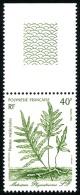 POLYNESIE 1986 - Yv. 268 ** SUP Bdf  Cote= 1,10 EUR - Plante Médicinale Metuapa ..Réf.POL22435 - Französisch-Polynesien