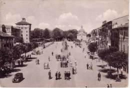 VENDO N.1 CARTOLINA DI MIRANDOLA(MO)LA PIAZZA FORMATO GRANDE - Modena