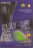 Russian Football. Official Program. UEFA EUROPA LEAGUE. 22.08.2013. FC Kuban - Feyenoord CF. - Boeken