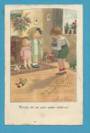 CPA 1321 - Fantaisie Enfants Ombrelle Jouet Ourson Teddy Apparel Photos  Illustrateur Pauli EBNER - Ebner, Pauli