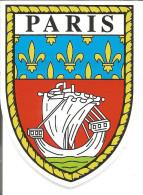 Blason Adhésif   Armoiries Paris - Stickers