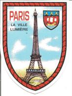 Blason Adhésif   Armoiries Paris - Adesivi