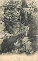 -departs Div. -ref- EE179 -  Haute Corse - Types Corses - Chevre - Chevres - Goat - Goats - Carte Bon Etat - - France