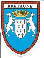 Blason Adhésif    Armoiries Bretagne - Stickers