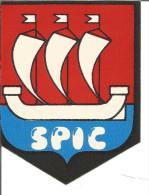 Blason Adhésif    Armoiries S.P.I.C. - Stickers