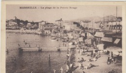 13  Marseille La Plage De La Pointe Rouge - Quatieri Sud, Mazarques, Bonneveine, Pointe Rouge, Calanques