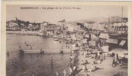 13 Marseille Plage De La Pointe Rouge - Quatieri Sud, Mazarques, Bonneveine, Pointe Rouge, Calanques