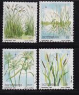 BOTSWANA, 1987, Mint Hinged Stamps ,  Christmas Grasses,  423-426, #876 - Botswana (1966-...)