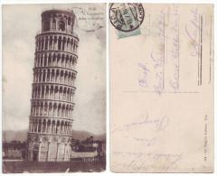 Pisa Il Campanile Della Cattedrale 1916 - Pisa