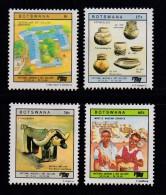 BOTSWANA, 1988, Mint Hinged Stamps , National Museum,  443-446, #895 - Botswana (1966-...)