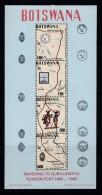 BOTSWANA, 1988, Mint Hinged Stamps In Block , Runner Post Mafeking, Block 27, #900 - Botswana (1966-...)