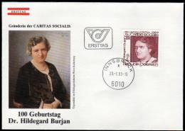 ÖSTERREICH 1983 - Hildegard Burjan / Gründerin Der Caritas Socialis - FDC - Berühmt Frauen