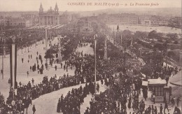 MALTE/Congrés De Malte 1913 La Procession Finale/ Réf:C4323 - Malta