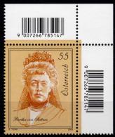 ÖSTERREICH 2009 ** Bertha V. Suttner - Friedens Nobelpreisträgerin - MNH - Berühmt Frauen