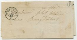 LAC - 1850 - Vénosc (38) Pour Le Bourg-d'Oisans (38) - Postmark Collection (Covers)