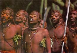 VÖLKERKUNDE / ETHNIC - Kenya, Masai Warriors - Kenia