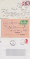 Lot De 15 CAD Manuelles Après 1960 (Dordogne) Le Fleix, Périgueux, Cherveix, Neuvic, Mauzac, St Michel.. - Manual Postmarks
