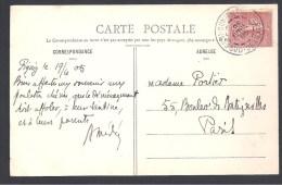 Algérie - Cachet  BENI OUNIF DE FIGUIG  SUD ORANAIS - Marcophilie (Lettres)