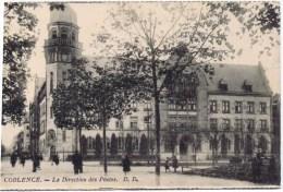 Cpa   COBLENCE   LA DIRECTION DES POSTES - Koblenz
