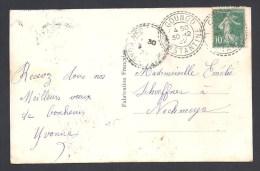 Algérie - Cachet  Pointillé De  GOUNOD  CONSTANTINE - Postmark Collection (Covers)