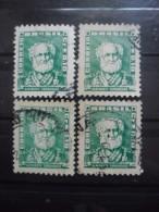 BRESIL N°577 X 4 Oblitéré - Timbres