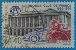 France 1995  : Centenaire De L´Automobile Club De France N° 2974 Oblitéré - Frankreich