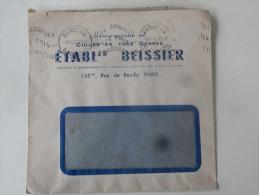 Manufacture De Colles En Tous Genres Ets Beissier  Paris 1947 - Droguerie & Parfumerie