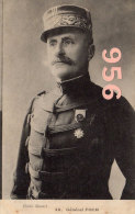 CPA * * Général  FOCH * * - Personnages