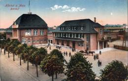 ALLEMAGNE - HÖCHST A. Main - CPA -  Bahnhof  - 1919 - Hoechst