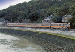 RU 1496 - Turbotrain RTG T 2000 Vers HOULGATE - Calvados 14 - SNCF - Houlgate