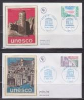 = Unesco 1980 3 Enveloppes 1er Jour Paris 15.11.80 N°S60 Gorée Sénégal S61 Pakistan Et S62 Haïti - Lettres & Documents