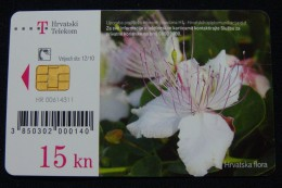 CROATIA 15 KN 2010 CHIP CARD, EXCELLENT QUALITY. - Croatia