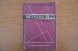 Lithuania Litauen School Book The Set Trigonometry 9-10 Class  1965 - Other