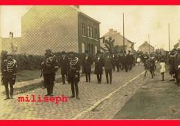 Pont-à-Celles - LUTTRE - Rue De Liberchies - Fête Du Centenaire, Le 27 Juillet 1930   (4050) - Pont-à-Celles