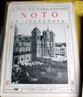 LE 100 CITTA' D'ITALIA ILLUSTRATE, ED. SONZOGNO 1919, NOTO FASCICOLO COMPLETO - Geografia