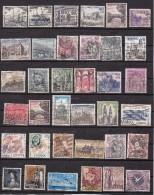 Espagne Ensemble De 36 Timbres Différents - 1931-Aujourd'hui: II. République - ....Juan Carlos I