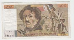FRANCE 100 Francs 1980 69/4b P154b VF- O.38 - 1962-1997 ''Francs''