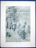 PARTITION PIANO GF CAMARGO SEGUEDILLE MÉTÉHEN PUB CRÈME SIMON SCULPTOGRAPHIE MASTROIANNI FORCADE MARSEILLE - Other