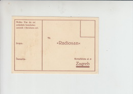 Ex Yugoslavia, (me012) - Radiosan Pharmaceutical Factory Unused - Pharmacy