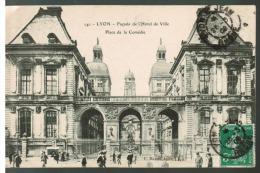 CPA LYON  Place De La Comedie (ALBUM 4 CPA 183 ) - Lyon