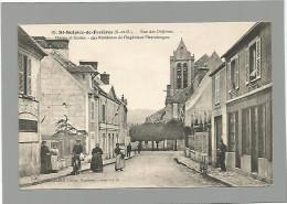 91 ST-SULPICE-DE-FAVIERES / Rue Des Orfèvres / Mairie Et Écoles / Résidence De L'Ingénieur Pierrelongue / Animée. - Saint Sulpice De Favieres