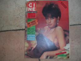 CINE REVUE N° 16 ( AVRIL -1963 ) SUZANNE PLESHETTE - SYLVIE VARTAN & JOHNNY HALLYDAY / R. SCHNEIDER - Dos: KIRK DOUGLAS - Cinéma