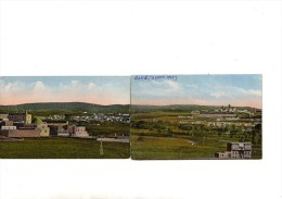 TWO FURTHER PANORAMIC VIEWS ALES SYRIA - 1905 - NON POSTCARD BACKED - Syrie