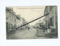 CPA  - Pontarmé  - La Grande Rue  (côté Nord) - Andere Gemeenten