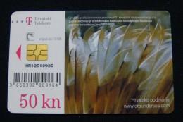 CROATIA 50 KUNA 2008 CHIP CARD SABELLA, EXCELLENT QUALITY. - Croatia