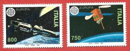 ITALIA REPUBBLICA MNH - 1991 - Europa - 36ª Emissione - £ 750 + 800 - S. 1962 - 1963 - 6. 1946-.. Repubblica