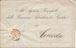 VENEZIA, Lombardei Und Venetien,  NR.3 , 2 Scan - Levant Autrichien